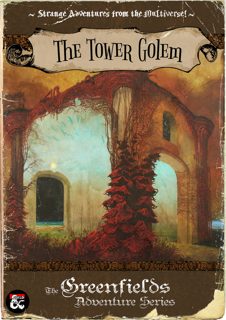 Cover of The Tower Golem