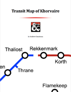 Lightning Rail Transit Map