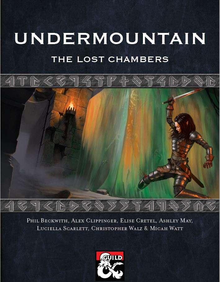 Undermountain - the Lost Chambers