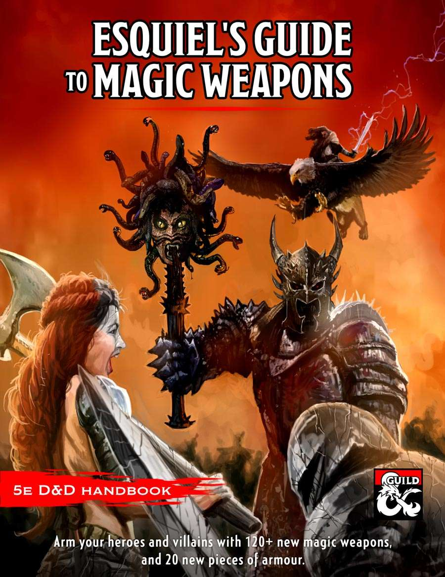 Esquiel's Guide to Magic Weapons - Dungeon Masters Guild | Dungeon Masters  Guild