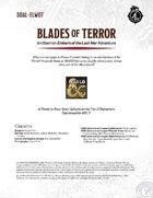 DDAL-ELW07 Blades of Terror