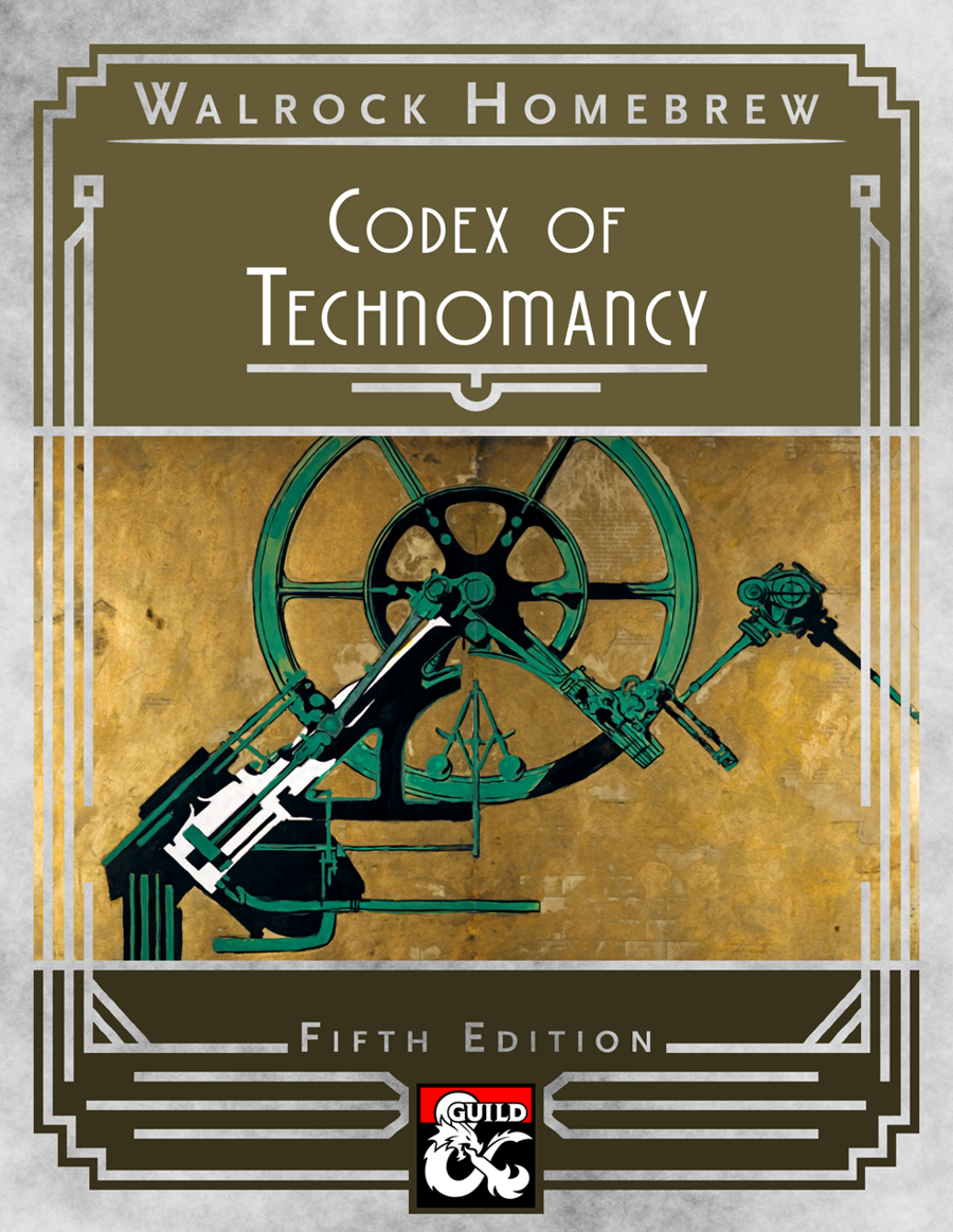 {WH} Codex of Technomancy, additional spells that blend science with the  arcane! - Dungeon Masters Guild | Dungeon Masters Guild