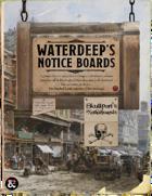 Notice Board: 42 Quests for Waterdeep and Skullport