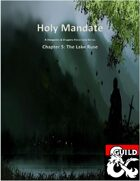 Holy Mandate: The Lake Ruse