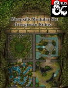 Moepsii's Modular Maps - Overgrown Ruins