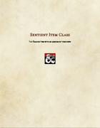 Class Option-Sentient Item