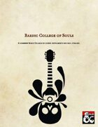 Bardic College of Souls v.01