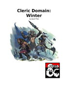 Cleric Domain: Winter