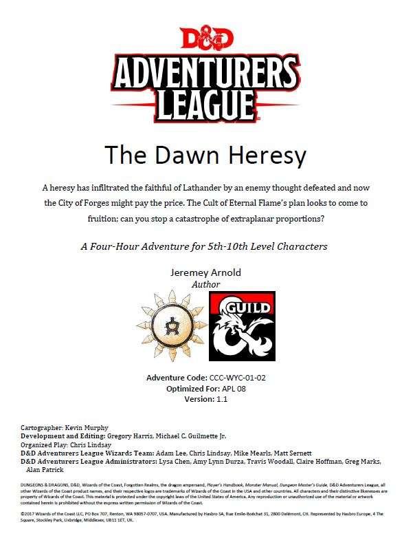 CCC-WYC-1-3 The Dawn Heresy