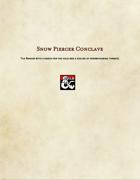 Ranger Subclass-Snow Piercer Conclave