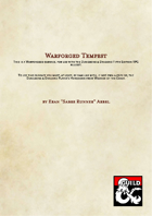 Warforged Subrace - Warforged Tempest