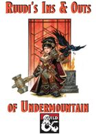 Ruudi's Ins & Outs of Undermountain