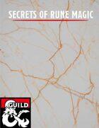 Secrets of Rune Magic