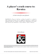 A player's crash course to: Ravnica