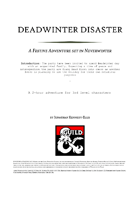 Deadwinter Disaster