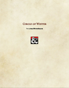 Druid Subclass-Circle of Winter
