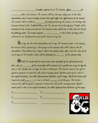 Contract for investing in Trollskull Manor