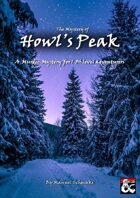 The Mystery of Howl's Peak