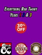 Everything Rob Twohy 2016-2018 Sale