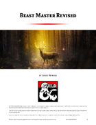 Beast Master Revised