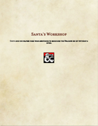 Adventure-Santa's Workshop