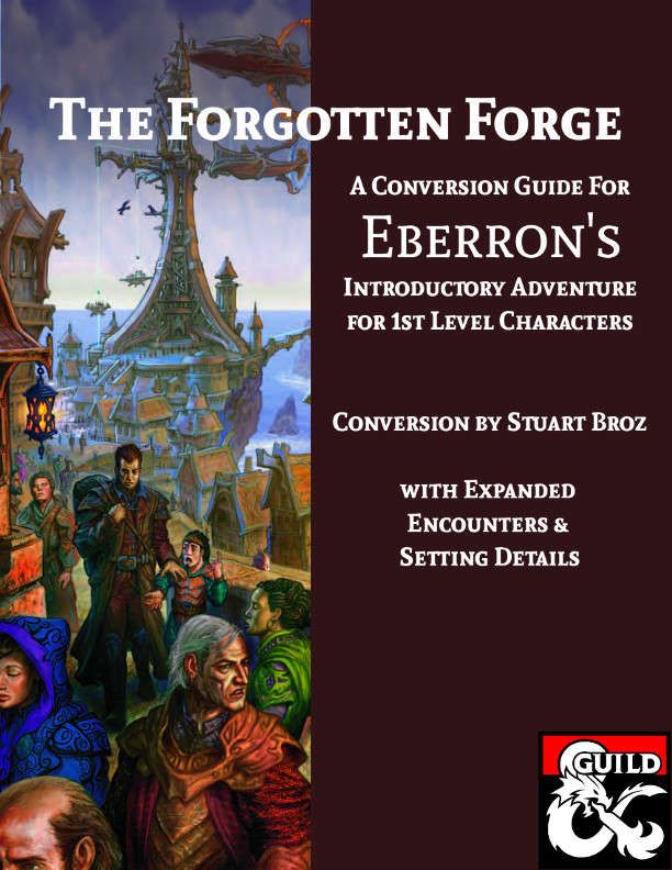 The Forgotten Forge An Expansion And 5e Conversion Guide