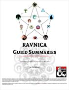 Ravnica Guild Summaries