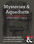 Mysteries & Aqueducts (5e) (SoEW 2)