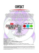 CCC-TRI-10 Contact (Part One of the Beholder Corps Series)