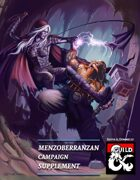 Menzoberranzan Drow Campaign Supplement