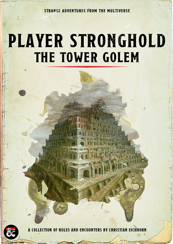 Player Stronghold: Tower Golem