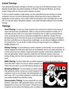 Animal Trainings (Beastmaster Ranger Archetype Addition)