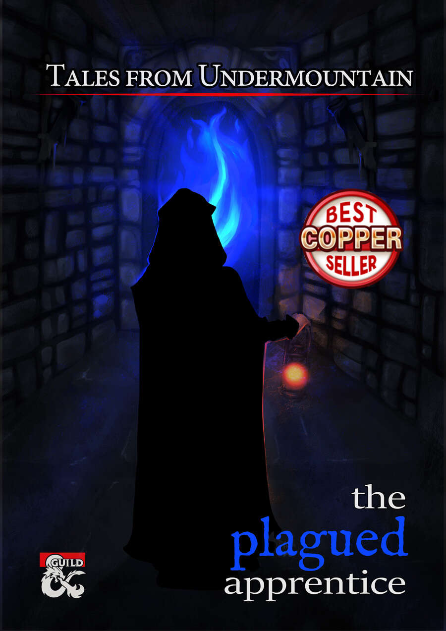 Cover of Tales from Undermountain: The Plagued Apprentice