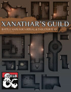 Xanathar's Guild Hideout Battle Maps