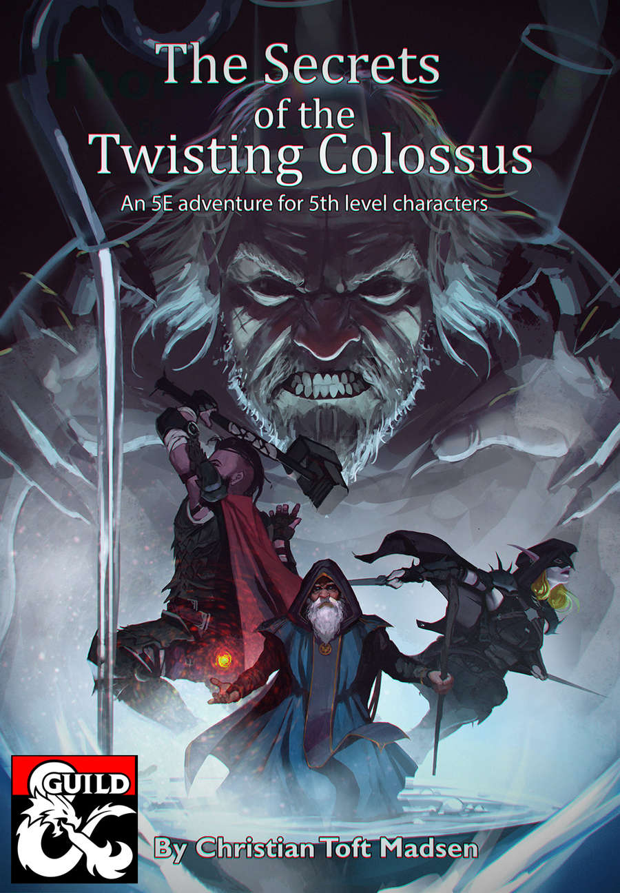 Cover of The Secrets of the Twisting Colossus