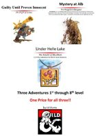 Three Adventures For One Price!