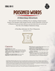 DDAL08-11 Poisoned Words