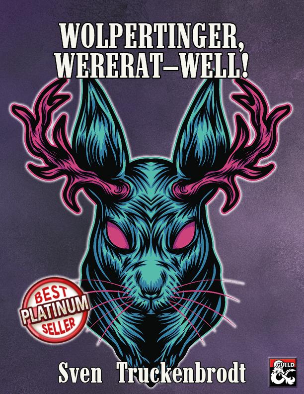 Cover of Wolpertinger, Wererat - Well!