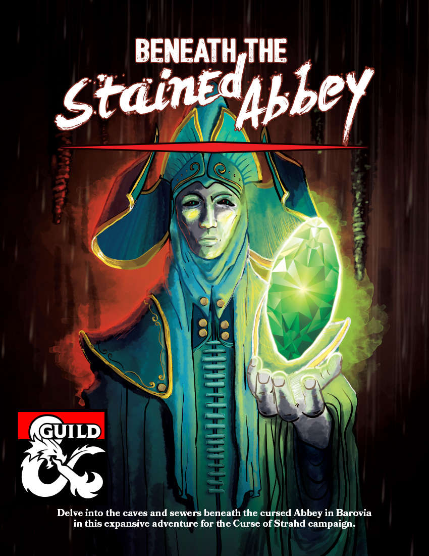 Curse of Strahd: Beneath the Stained Abbey - Dungeon Masters Guild |  DriveThruRPG com