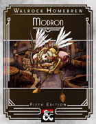 {WH} Modrons! An orderly, marching race of planar constructs!