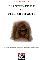 Nezaguul's Blasted Tome of Vile Artifacts