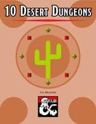 10 Desert Dungeons