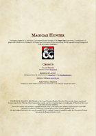 Magicae Hunter
