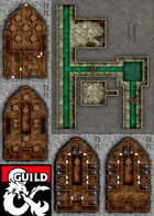 DDAL08-03 - Dock Ward Double Cross Map Pack