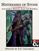 Mistresses of Stone: A Playable Medusa Race for Ravnica