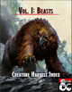 Creature Harvest Index - Beasts