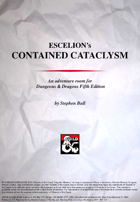 Escelions Contained Cataclysm