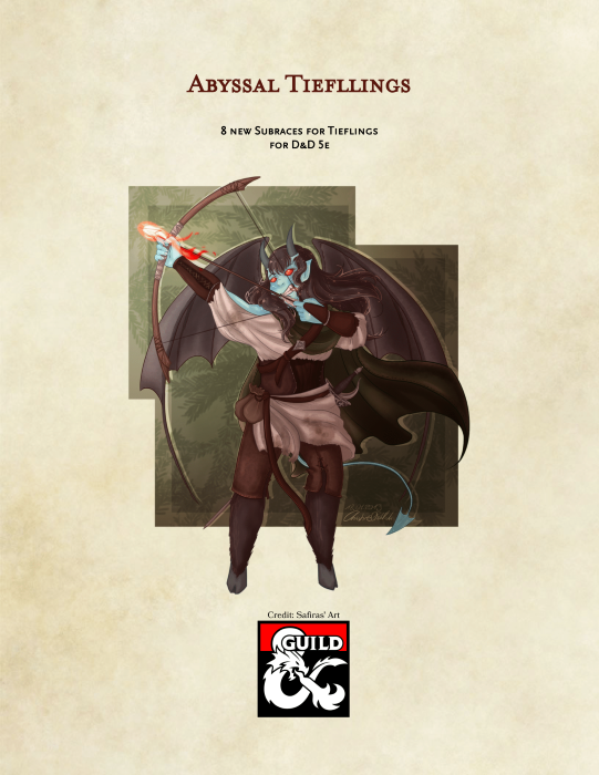 Abyssal Tieflings - Dungeon Masters Guild | Dungeon Masters