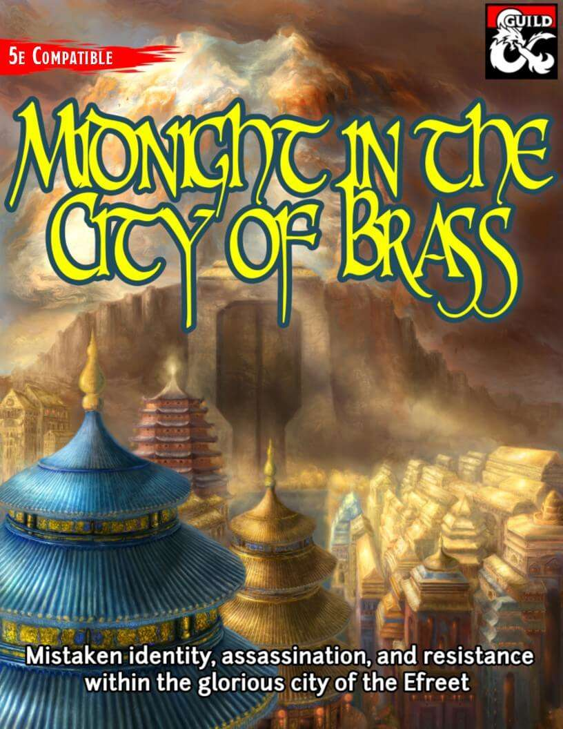 Midnight in the City of Brass (Al-Qadim and Forgotten Realms