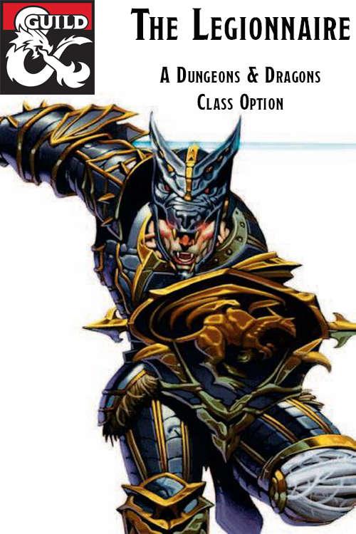 Legionnaire Class DnD 5e v0.3 - Dungeon Masters Guild  c8c6380a74ce